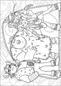 coloring page How to train your dragon (13)