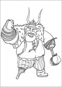 målarbok Hur du tränar din drake (3)