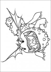 coloring page How to train your dragon (4)