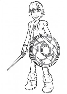 coloring page How to train your dragon (5)