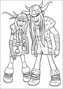 coloring page How to train your dragon (8)