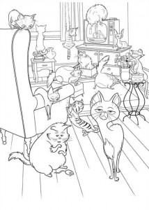 coloring page Pet secrets (Secret life of Pets) (10)
