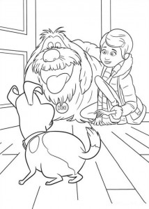 coloring page Pet secrets (Secret life of Pets) (17)