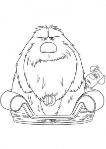 coloring page Pet secrets (Secret life of Pets) (18)
