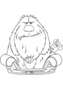 målarbok Husdjurshemligheter (Husdjurens hemliga liv) (18)