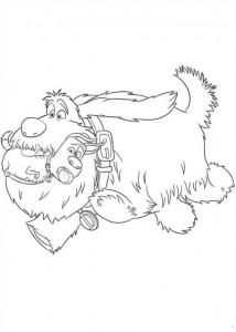 målarbok Husdjurshemligheter (Husdjurens hemliga liv) (3)