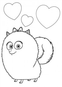 coloring page Pet secrets (Secret life of Pets) (5)
