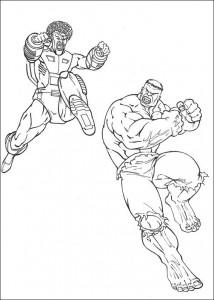 coloring page Hulk (12)