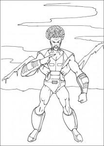 kleurplaat Hulk (13)