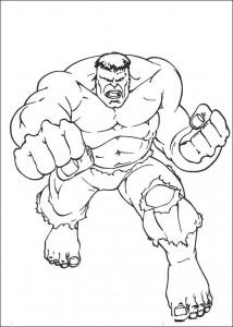 coloring page Hulk (16)