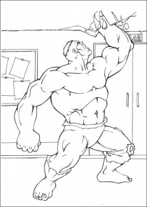 coloring page Hulk (2)