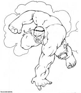 coloring page Hulk (21)