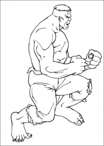 coloring page Hulk (3)