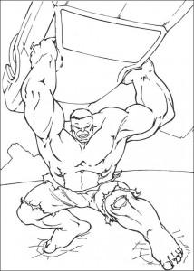 kleurplaat Hulk (32)