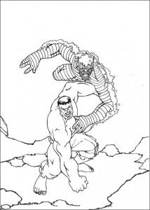 coloring page Hulk (33)
