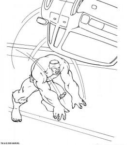 kleurplaat Hulk (39)