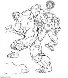 coloring page Hulk (45)