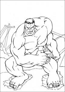 coloring page Hulk (48)