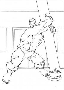 kleurplaat Hulk (53)