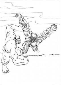 kleurplaat Hulk (66)