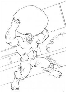 coloring page Hulk (74)