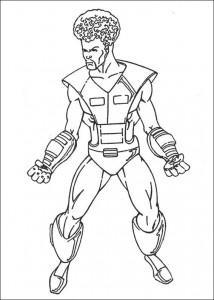 kleurplaat Hulk (9)