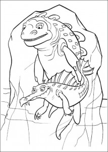 coloring page Ice Age 2 (2)