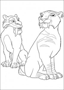 coloring page Ice Age 4 Continental Drift (10)