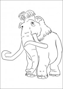 coloring page Ice Age 4 Continental Drift (11)