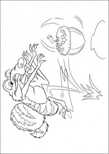 coloring page Ice Age 4 Continental Drift (2)
