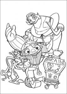 pagina da colorare Igor (1)