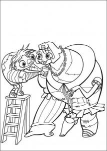 pagina da colorare Igor