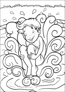 coloring page I said, no bomb
