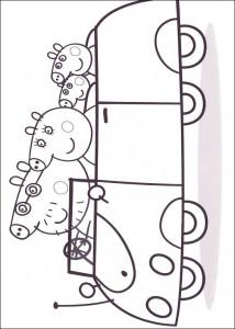 målarbok I bilen