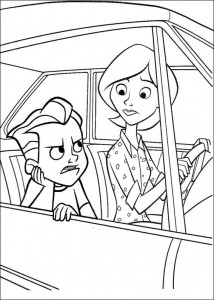 coloring page Incredibles (2)