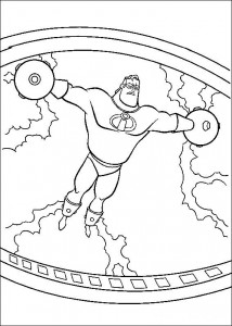coloring page Incredibles (28)