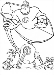 coloring page Incredibles (30)