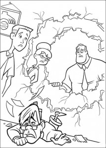 coloring page Incredibles (4)
