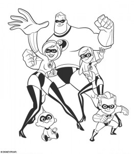 coloring page Incredibles (46)
