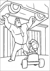 coloring page Incredibles (9)