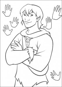 coloring page Indian (1)