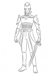coloring page inquisitor