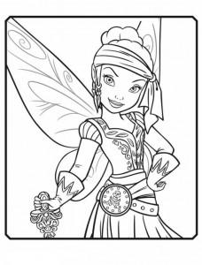 coloring page Iridessa