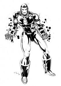 målarbok Iron man (10)