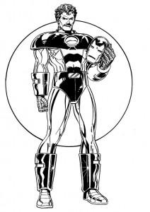 målarbok Iron man (11)