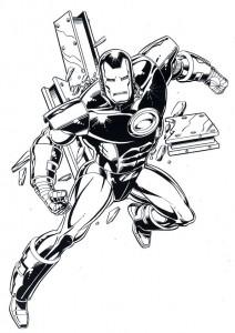 målarbok Iron man (14)