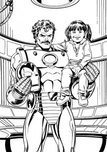 coloring page Iron man (19)