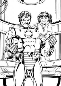 målarbok Iron man (19)