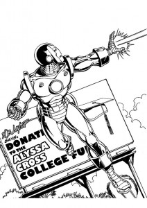 coloring page Iron man (21)