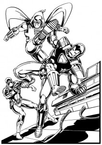 coloring page Iron man (26)